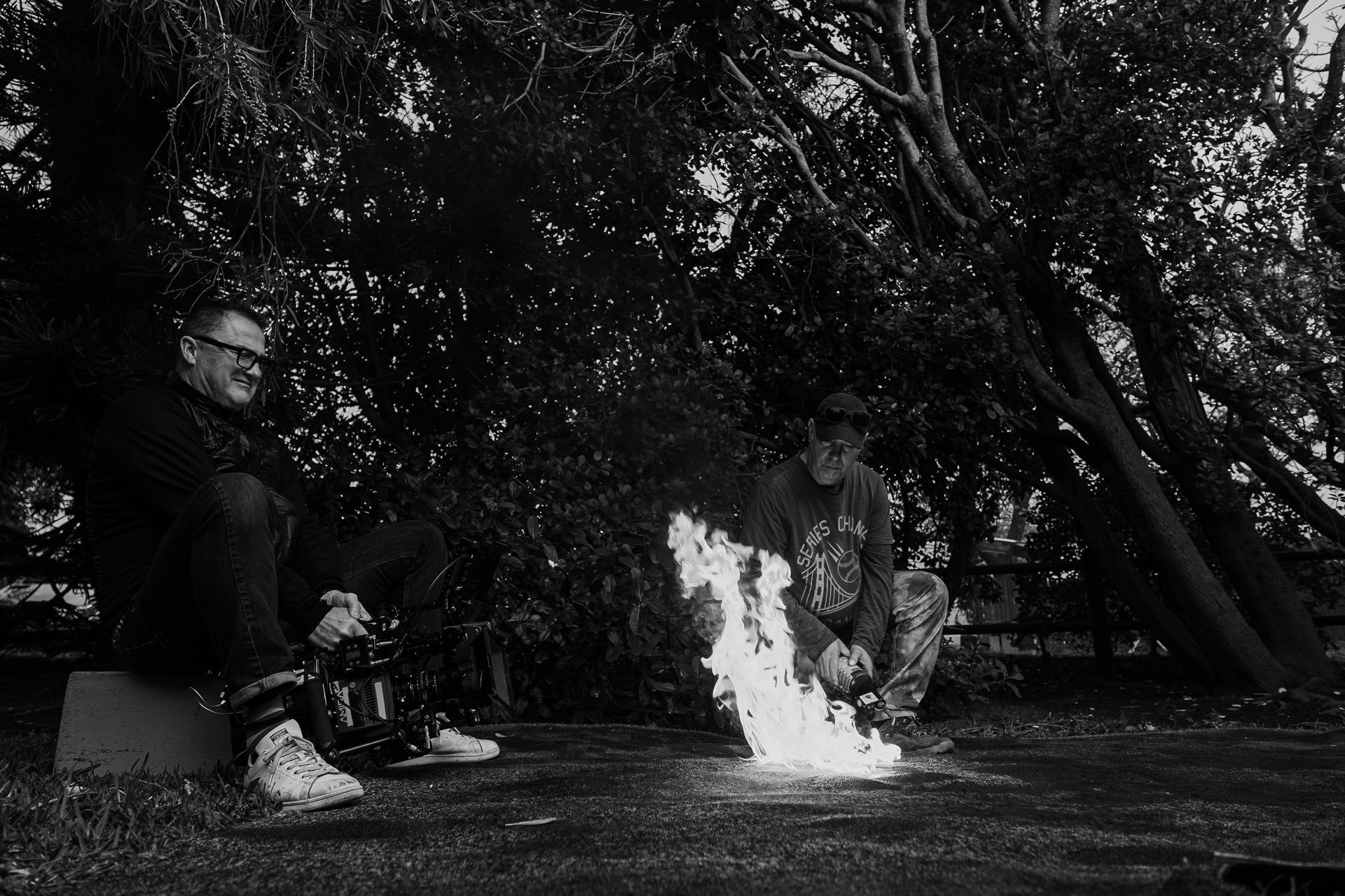 American Monster 4; Block 5; Shoot Day 02 of 06: Kohnle Home: BTS.