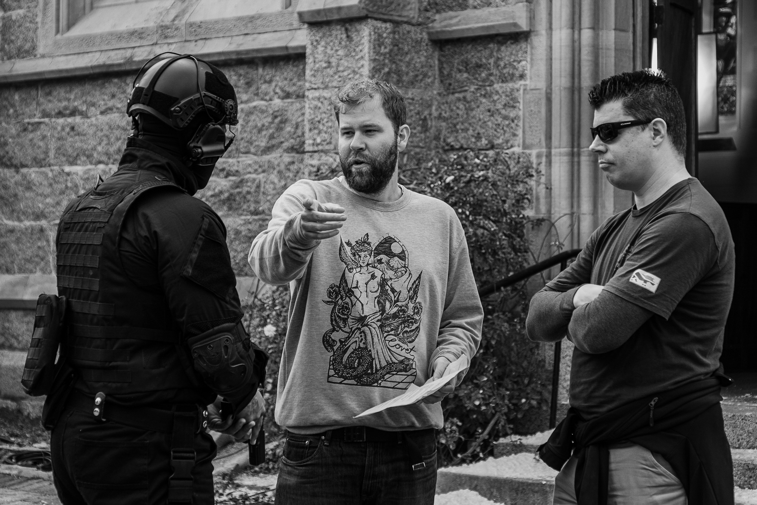 American Monster 4; Block 6; Shoot Day 06 of 06; Sc G16: St Peters Cathedral: BTS.