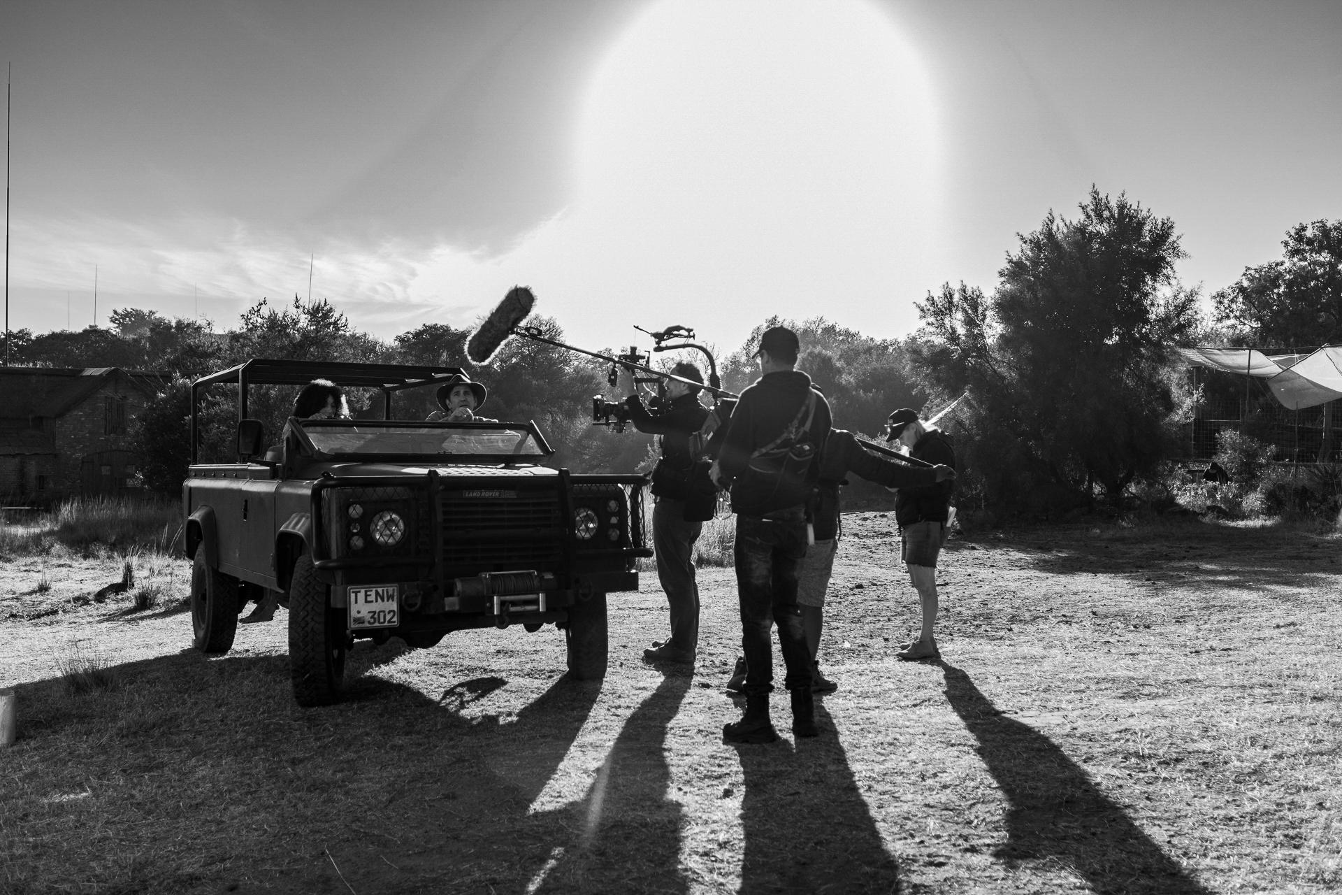 Shoot day 02 of 19; Sc 1/17; Ext. mor 2; Farm House: BTS.
