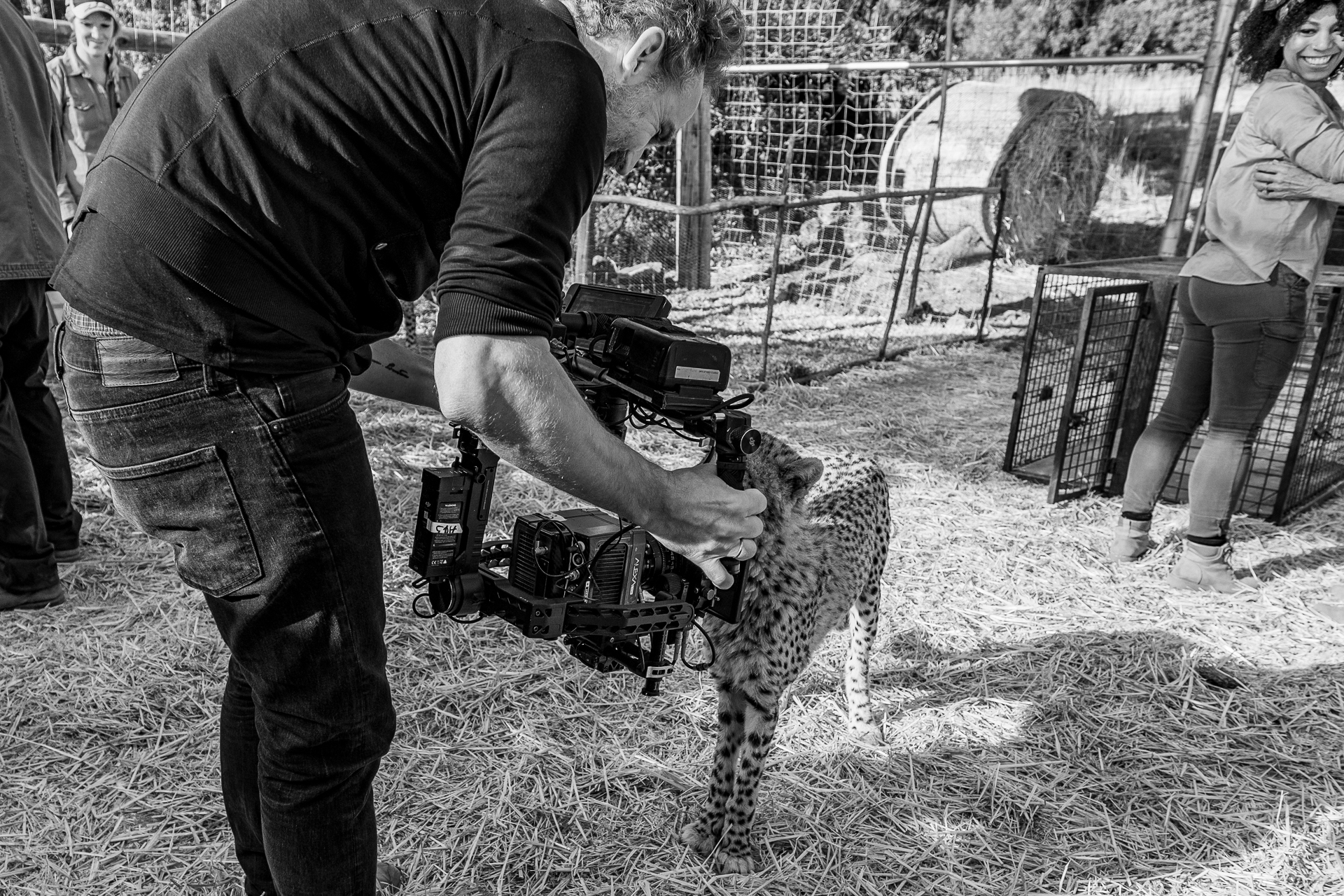 Shoot Day 14 of 19; Sc 3/28; Ext. day 6; Farm House - Enclosure: BTS, Dennis Pauls.