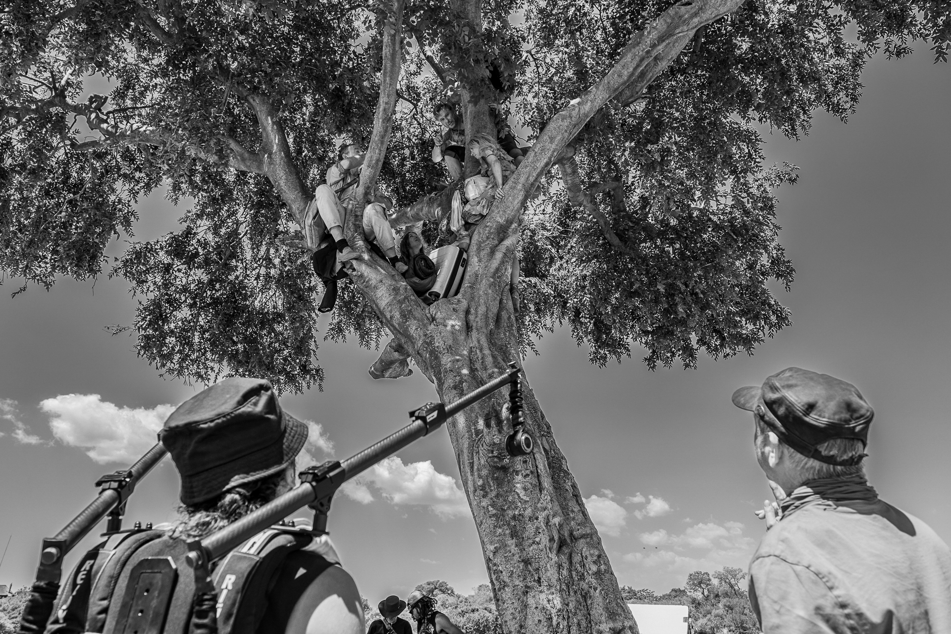 Shoot Day 12 of 22; Sc 54; At the Lion Tree: BTS.